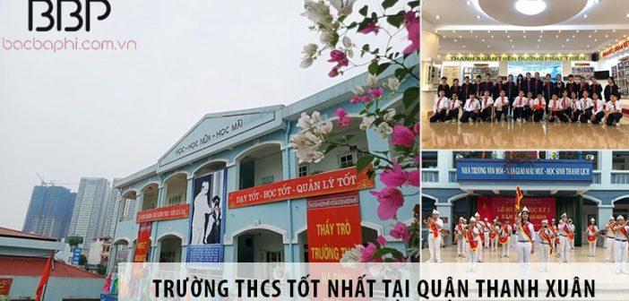 Top 4 trường cấp 2 THCS tốt nhất tại quận Thanh Xuân