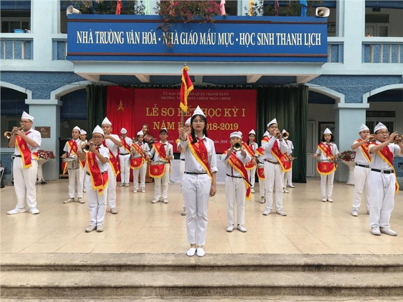Trường THCS Nhân Chính - phường Nhân Chính