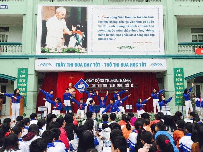 Trường THCS Phan Đình Giót - phường Nhân Chính
