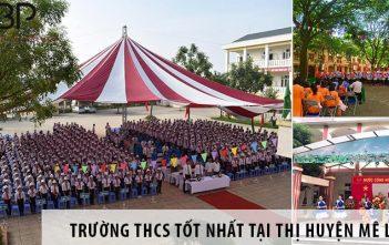 3 trường cấp 2 THCS tốt nhất tại huyện Mê Linh