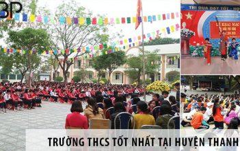 Top 3 trường cấp 2 THCS tốt nhất tại huyện Thanh Trì