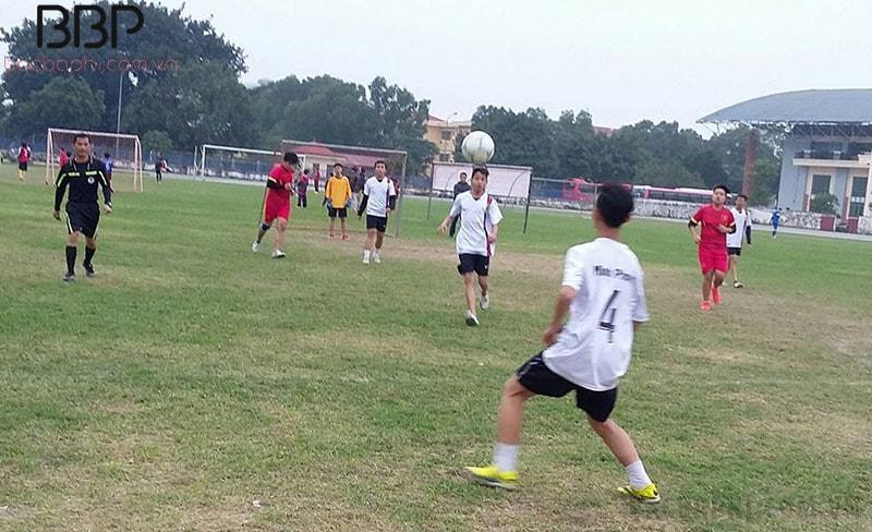 Giải bóng đá của học sinh trường THCS Tân Triều