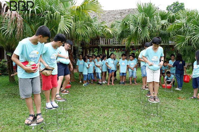 Hội trại hè của trường THCS Cầu Giấy