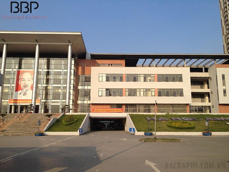Cảnh quan nhà trường đẹp như trường Quốc tế