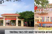 3 trường cấp 2 THCS tốt nhất tại huyện Mỹ Đức