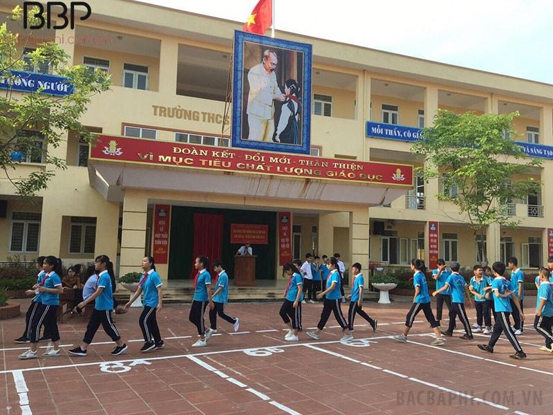 Hoạt động thể dục thể thao của học sinh trường THCS Song Phượng