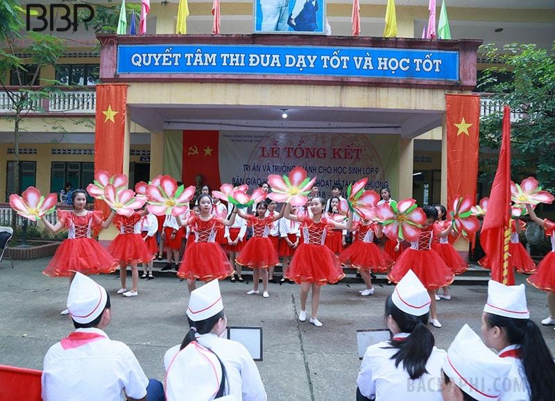 Trường THCS Bê Tông
