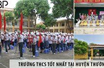 3 trường cấp 2 THCS tốt nhất tại huyện Thường Tín