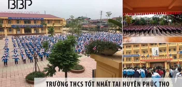 Những trường cấp 2 THCS tốt tại huyện Phúc Thọ, Hà Nội