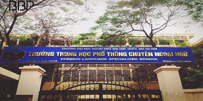 Trường THPT chuyên Ngoại Ngữ