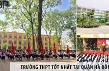 Gợi ý chọn trường cấp 3 THPT cho học sinh tại quận Hà Đông