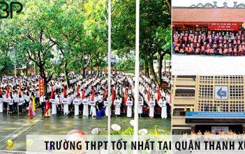 Top trường cấp 3 THPT tốt nhất tại quận Thanh Xuân, Hà Nội