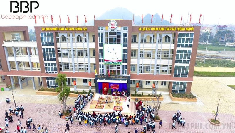 Trường THPT Phan Huy Chú - xã Sài Sơn
