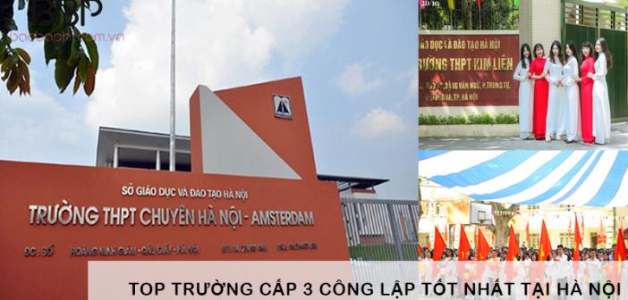 Trường cấp 3 công lập tốt nhất tại Hà Nội