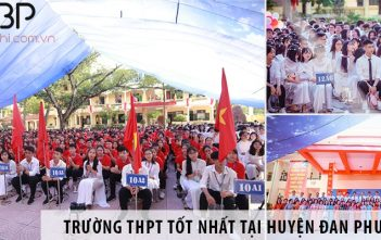 Chọn trường THPT công lập tốt nhất tại huyện Đan Phượng