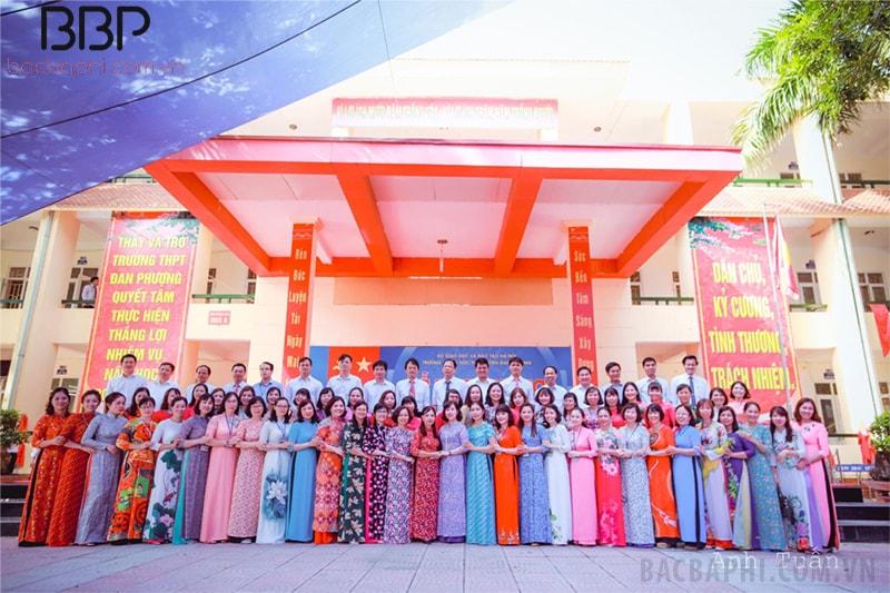 Đội ngũ giáo viên của nhà trường