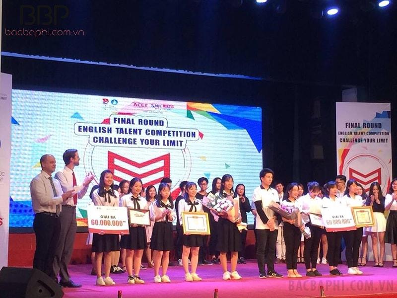 Học sinh trường THPT Minh Quang đạt giải ba cuộc thi Tài năng ngoại ngữ