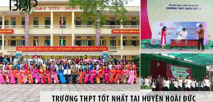 Top 3 trường THPT công lập tốt nhất ở huyện Hoài Đức
