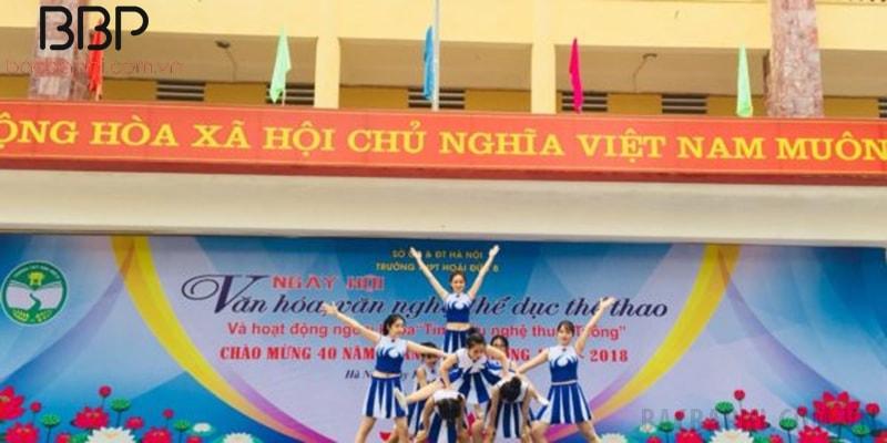 Hoạt động ngoại khóa tại Trường THPT Hoài Đức B - xã An Khánh