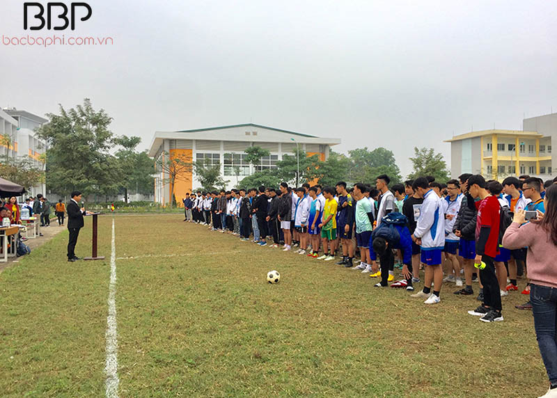 Giải bóng đá nam của trường THPT Sơn Tây