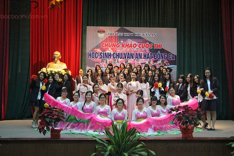 Trường THPT Chu Văn An - Trường Cambrigde international