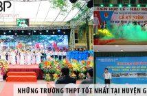 Những trường cấp 3 THPT tốt nhất tại huyện Gia Lâm, Hà Nội