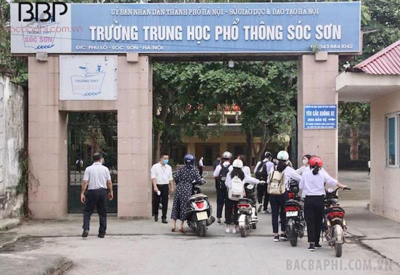 Trường THPT Sóc Sơn