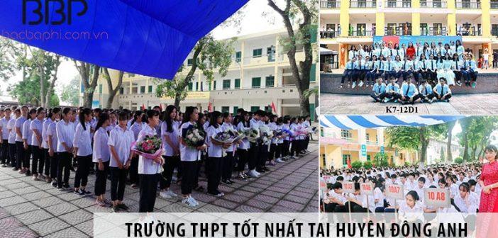 Top 3 trường cấp 3 THPT tốt nhất tại huyện Đông Anh