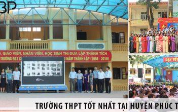 Top 2 trường cấp 3 THPT tốt nhất tại huyện Phúc Thọ, Hà Nội