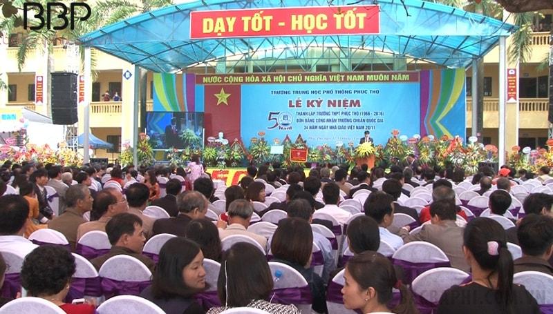 Trường THPT Phúc Thọ - xã Võng Xuyên