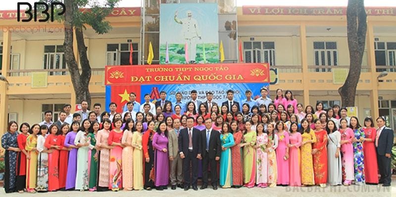 Trường THPT Ngọc Tảo - xã Ngọc Tảo