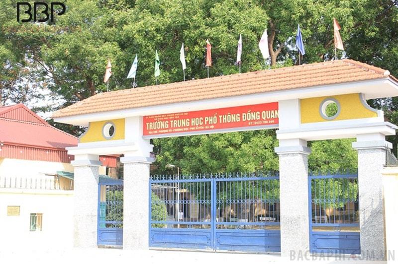 Trường THPT Đồng Quan - xã Phượng Dực