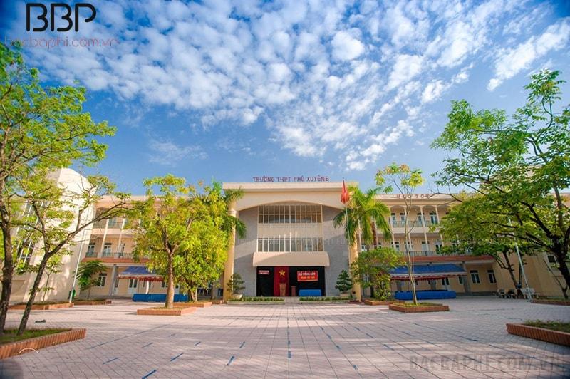 Trường THPT Phú Xuyên B - xã Trị Thủy