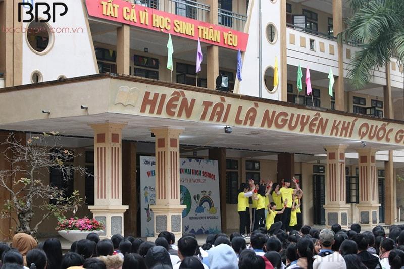 Hoạt động sinh hoạt hằng tuần của trường THPT Xuân Mai