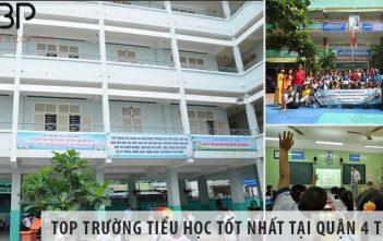 Review 5 trường tiểu học cấp 1 tốt nhất tại Quận 4 TP HCM