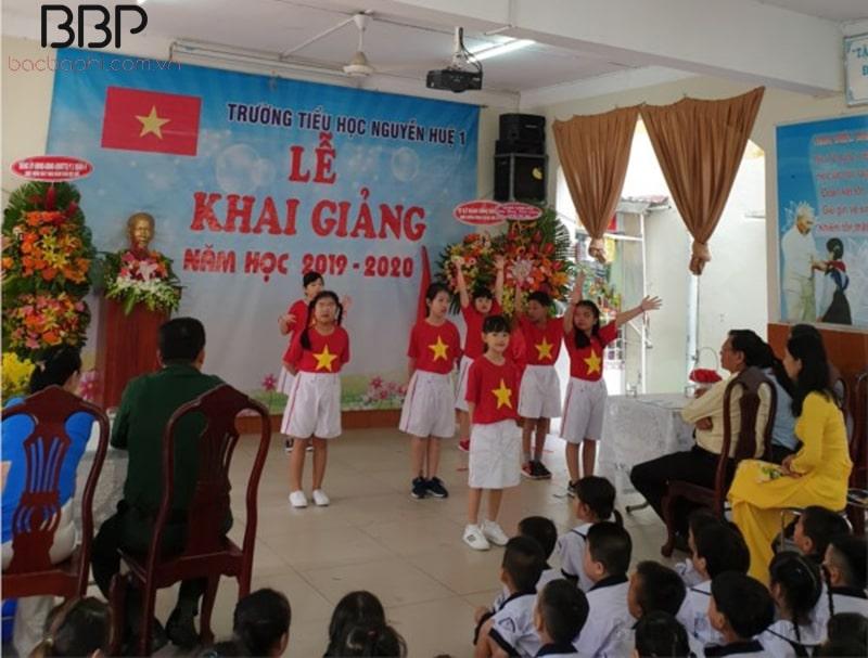 Trường tiểu học Nguyễn Huệ - Phường 1
