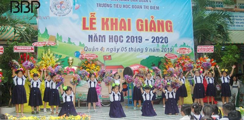 Trường tiểu học Đoàn Thị Điểm - phường 2