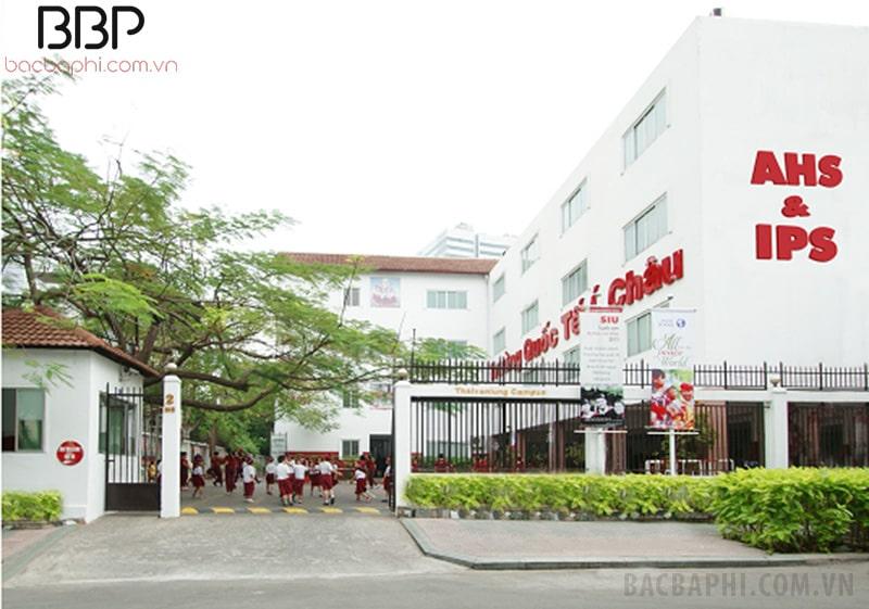 Trường tiểu học Quốc Tế Á Châu - phường Bến Nghé