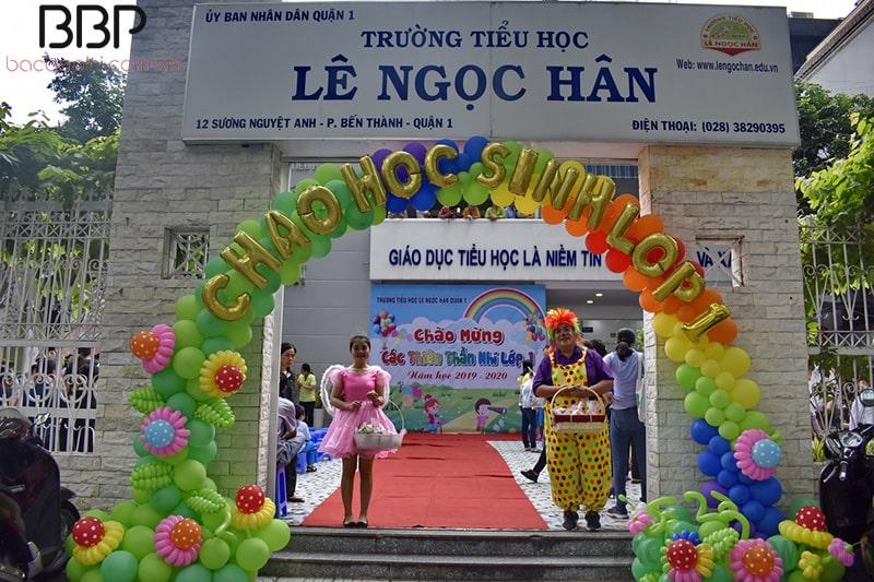 Trường tiểu học Lê Ngọc Hân - Phường Bến Nghé