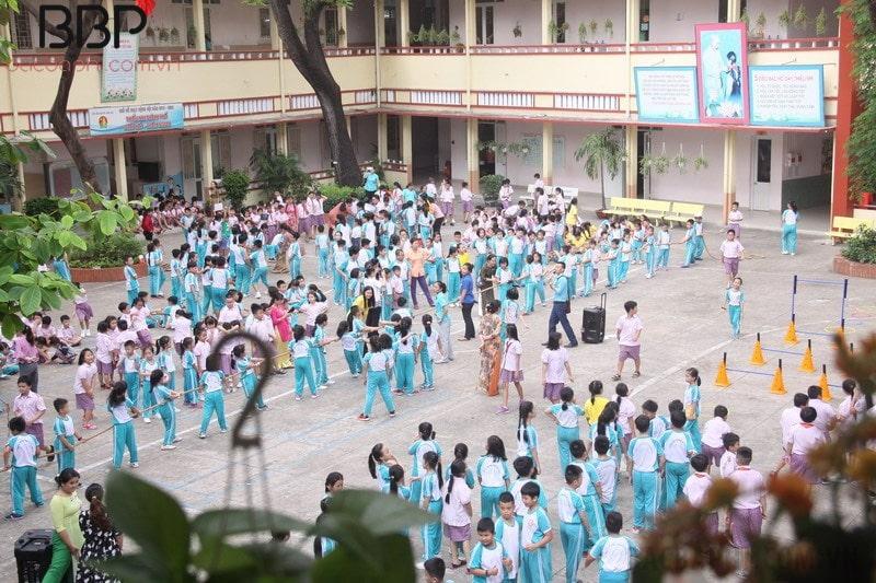 Trường tiểu học Nguyễn Thái Học - phường Cầu Ông Lãnh