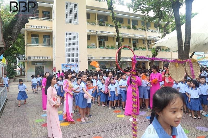 Trường tiểu học Trần Hưng Đạo - phường Nguyễn Cư Trinh