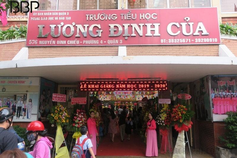 Trường tiểu học Lương Định Của - phường 4