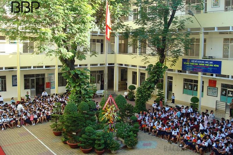 Trường tiểu học Trần Quốc Thảo - phường 6