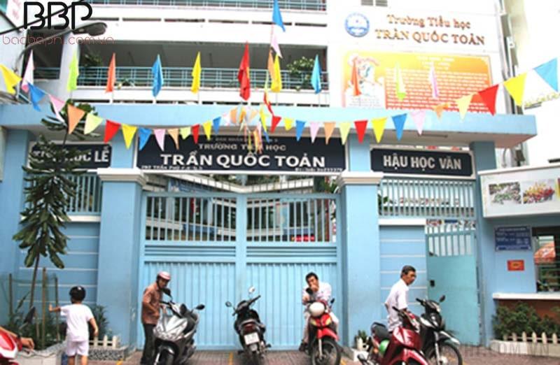 Trường tiểu học Trần Quốc Toản - phường 8