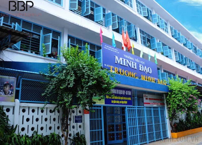 Trường tiểu học Minh Đạo - phường 11