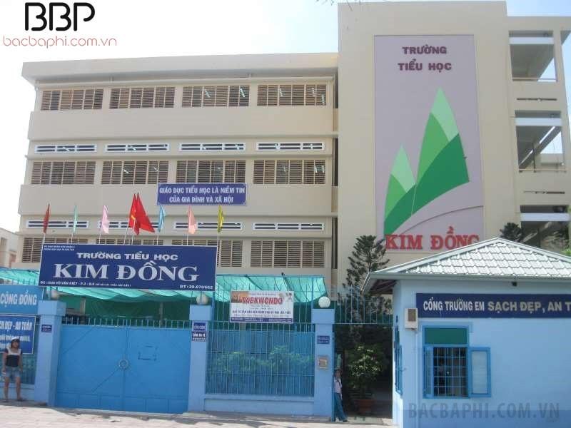 Trường tiểu học Kim Đồng - phường 3