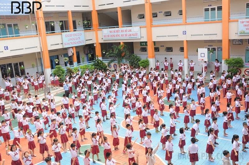 Trường tiểu học Châu Văn Liêm - phường 5