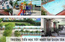3 trường tiểu học cấp 1 tốt nhất tại Quận Tân Bình