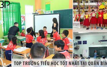Top trường tiểu học cấp 1 tốt nhất tại Quận Bình Tân