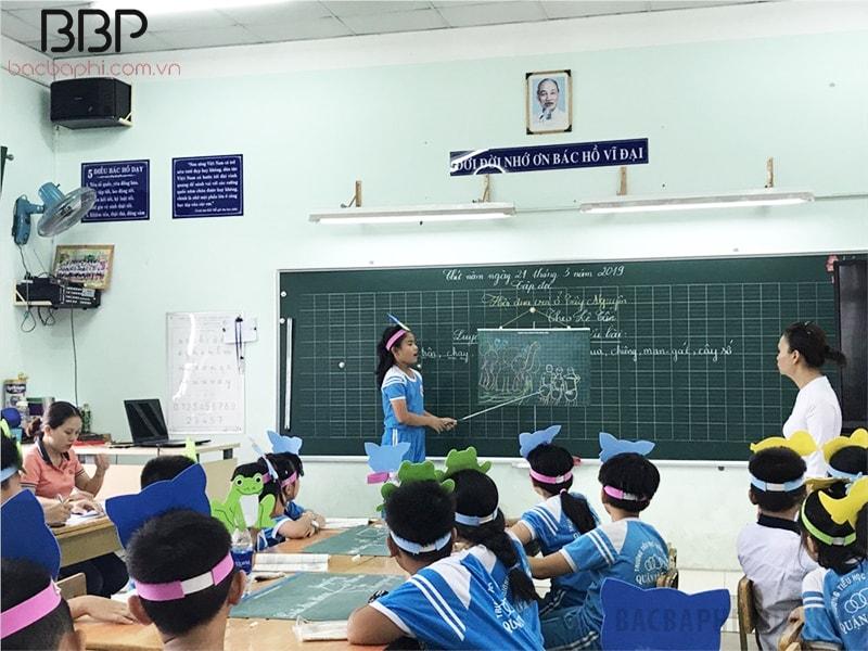 Trường tiểu học Trần Văn Ơn - Phường Bình Hưng Hòa B